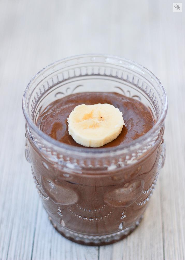 Smoothie de aguacate y chocolate