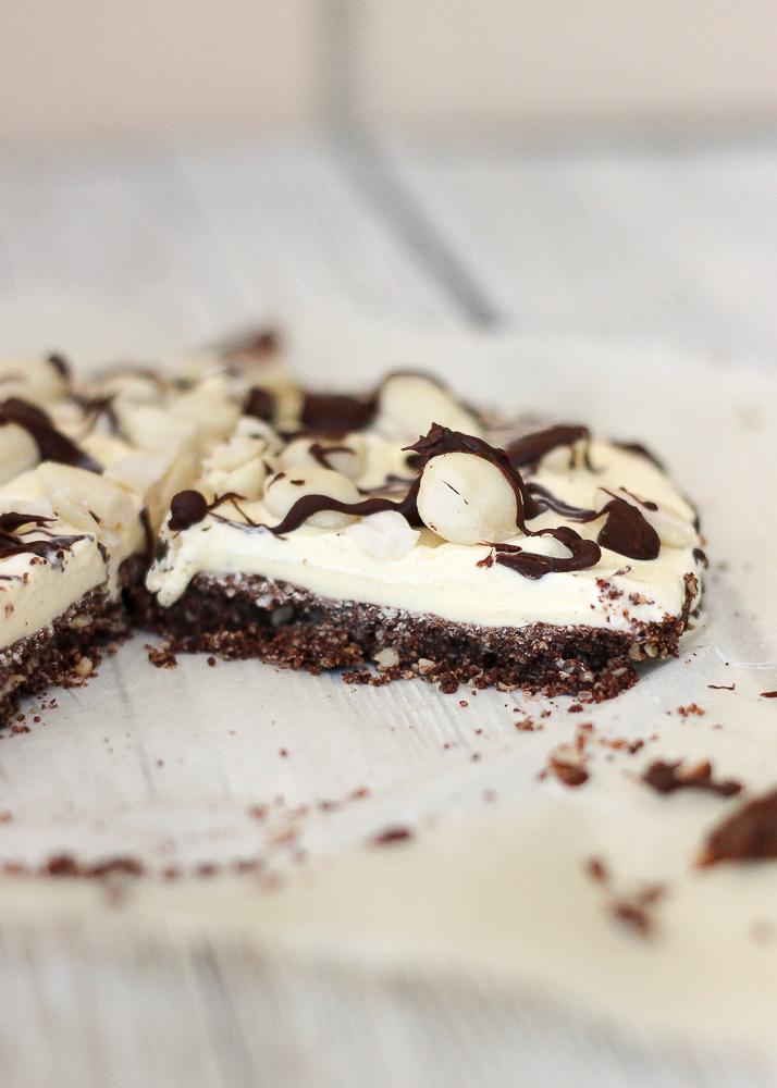Pizza helada de chocolate