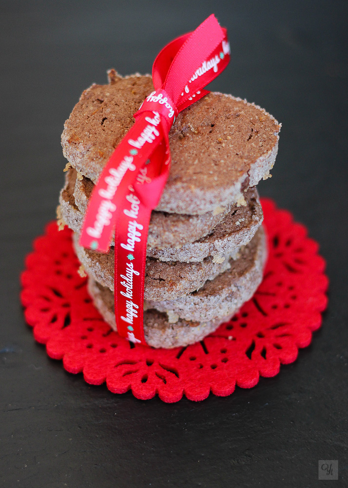 Galletas de chocolate almendra cardamomo