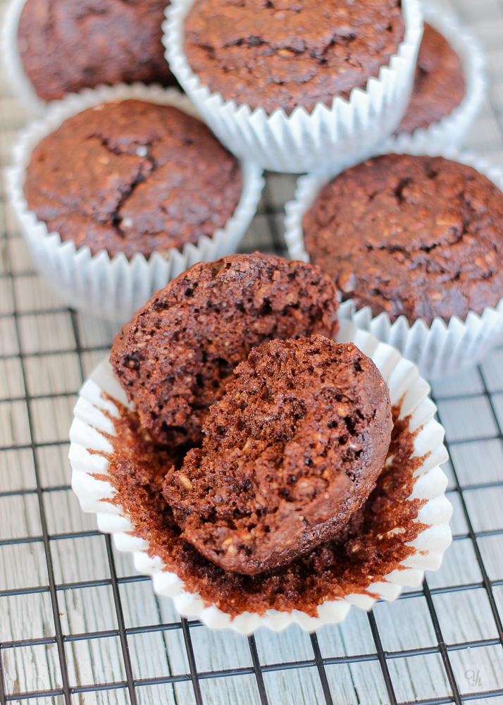 Muffins chocolate PB plátano