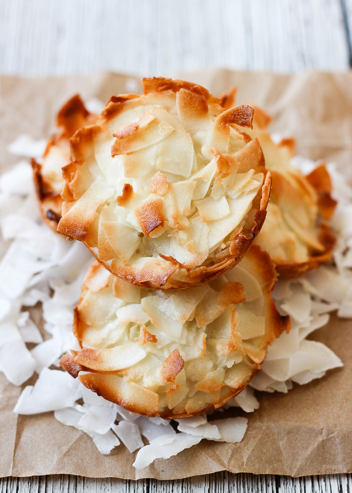Receta de bizcochitos de coco
