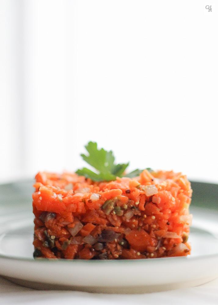 Tartar de zanahoria